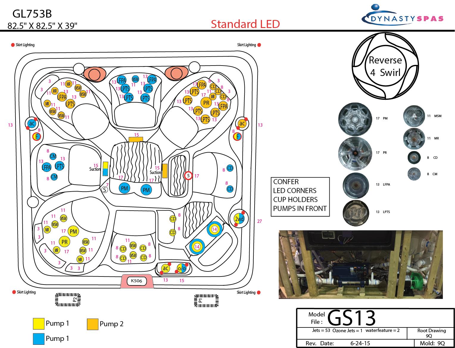 Hot Tub Schematics Garden Spa Wiring Diagram 863l